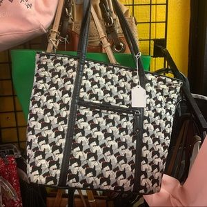 Vera Bradley Scottish dog bag and matching Wallet